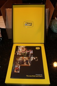 otterbox defender for new ipad inside box