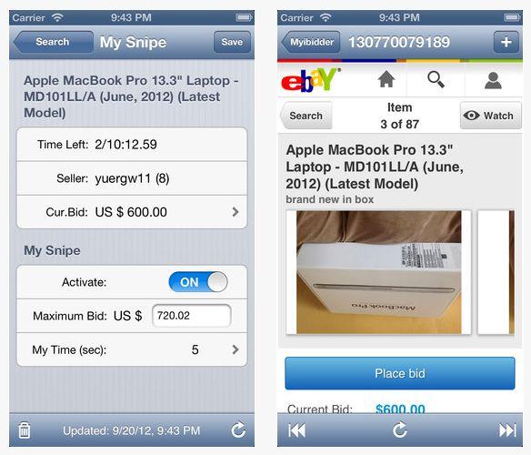 Review Myibidder Auction Bid Sniper For Ebay