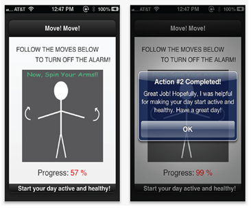 healthy alarm app