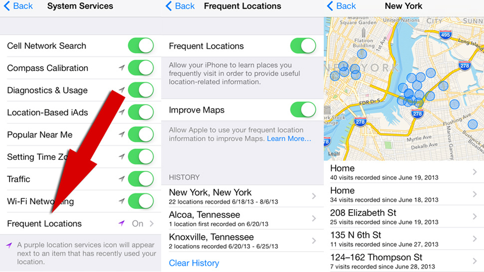 change gps location iphone ios 7 is tracking you via gps amp apple maps 13768
