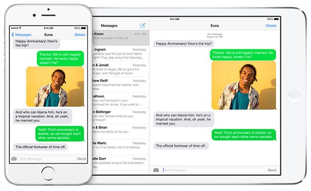 iOS 9 continuity